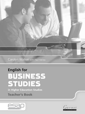 English for Business Studies in Higher Education Studies - English for Specific Academic Purposes (Paperback)
