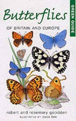 Butterflies of Britain and Europe - Michelin Green Guides (Paperback)