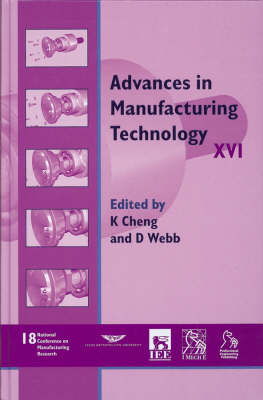 Cover Advances in Manufacturing Technology XVI: NCMR 2002