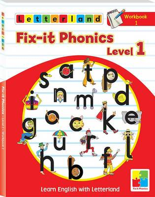 Fix-it Phonics: Workbook 1 Level 1: Learn English with Letterland (Paperback)