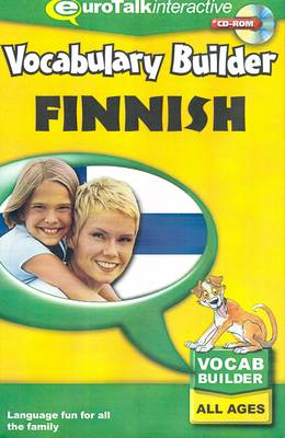 Vocabulary Builder - Finnish (CD-ROM)