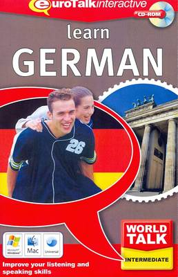 World Talk - Learn German: Improve Your Listening and Speaking Skills - World Talk (CD-ROM)