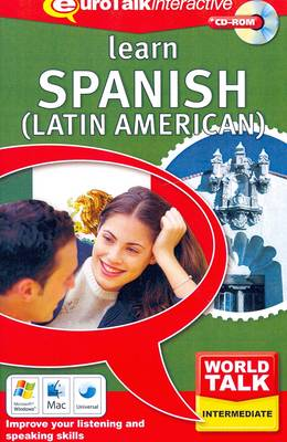 World Talk - Learn Spanish (Latin American): Improve Your Listening and Speaking Skills - World Talk (CD-ROM)