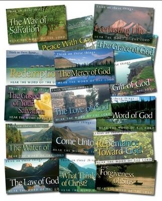 Mixed Pack of Scripture Leaflet Tracts (160 Tracts): Think of These Things - Hear the Word of the Lord - Scripture Leaflet Tracts (Pamphlet)
