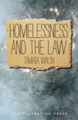 Homelessness and the Law (Paperback)