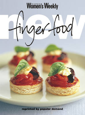 "New Finger Food - ""Australian Women's Weekly"" Home Library (Paperback)"