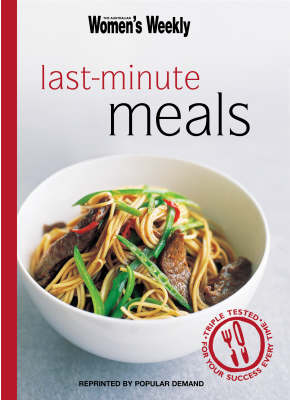 Last-Minute Meals - The Australian Women's Weekly Minis (Paperback)