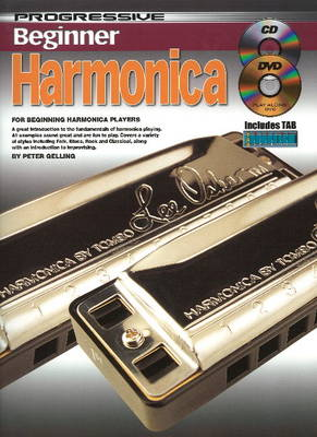 Progressive Beginner Harmonica (Mixed media product)