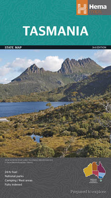 Tasmania State 2014: HEMA.3.10L (Sheet map, folded)