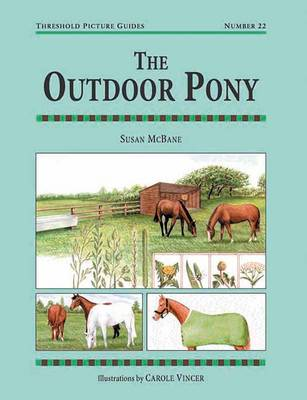 The Outdoor Pony - Threshold Picture Guide No.22 (Paperback)