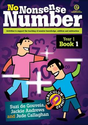 No Nonsense Number: Year 1 Bk 1 (Paperback)