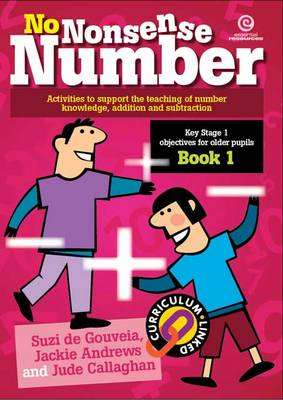 No Nonsense Number: KS 1 for Older Pupils Bk 1 (Paperback)