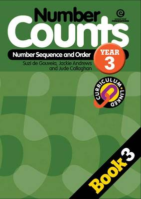 Number Counts: Sequence and Order Y3 (Paperback)