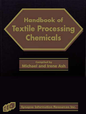 Handbook of Textile Processing Chemicals (Hardback)