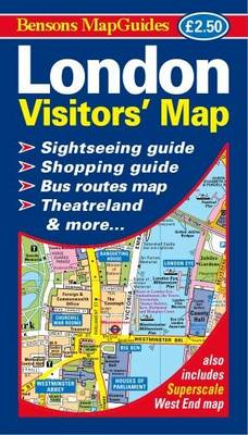 London Visitors' Map (Sheet map, folded)