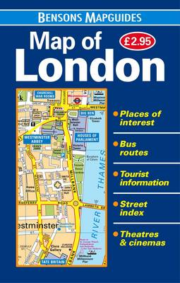 Map of London (Sheet map, folded)