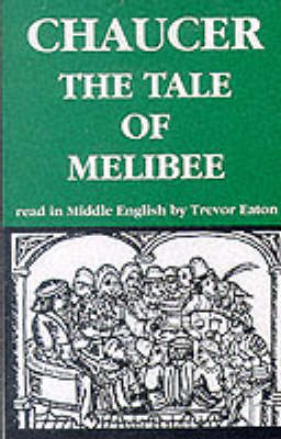The Tale of Melibee - Geoffrey Chaucer - the Canterbury tales (Audio cassette)