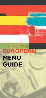 The European Menu Guide (Paperback)