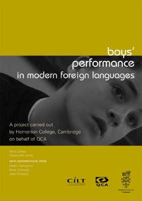 Boys' Performance in Modern Foreign Languages: Listening to Learners (Paperback)