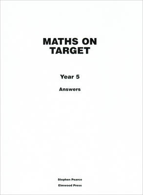 Maths on Target: Answers Year 5 (Paperback)