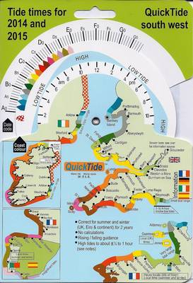 QuickTide South West 2014/2015 (Sheet map, folded)