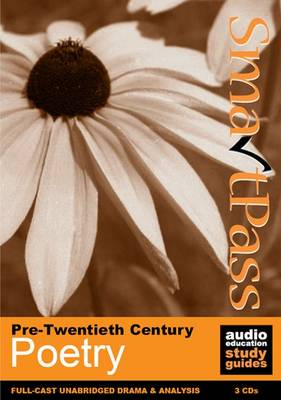 Pre-Twentieth Century Poetry: SmartPass Audio Education Study Guide (CD-Audio)