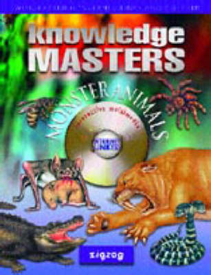 Monster Animals - Knowledge Masters S. (Mixed media product)