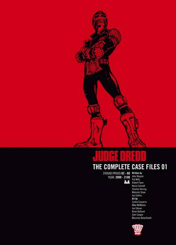 Judge Dredd: Complete Case Files v. 1 (Paperback)