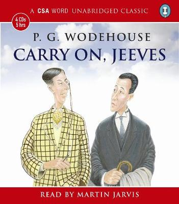 Carry on, Jeeves (CD-Audio)
