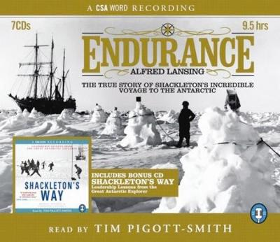 Endurance and Shackleton's Way: Both the Story and Leadership Lessons from the Antarctic Explorer Shackleton (CD-Audio)