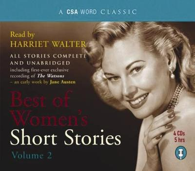 Womens Short Stories: Volume 2 (CD-Audio)
