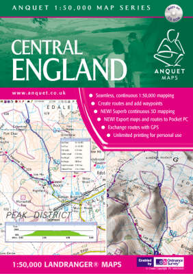 Central England - Anquet Maps (CD-ROM)