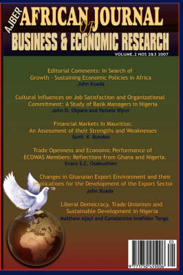 African Journal of Business and Economic Research, Volume 2, Nos 2&3 (Paperback)