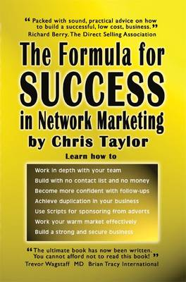 The Formula for Success in Network Marketing (Paperback)