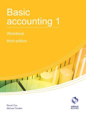 Basic Accounting 1 Workbook - AAT Accounting - Level 2 Certificate in Accounting (Paperback)