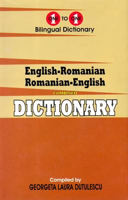 English-Romanian & Romanian-English One-to-One Dictionary (Paperback)