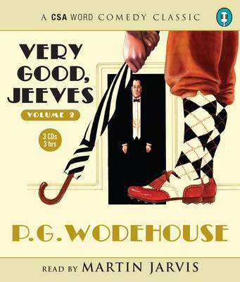 Very Good, Jeeves: v. 2 (CD-Audio)