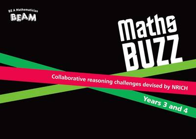 Maths Buzz Years 3 and 4 - Collaborative Reasoning Challenges (Mixed media product)