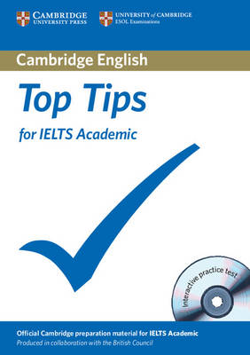 Top Tips for IELTS Academic Paperback with CD-ROM (Mixed media product)