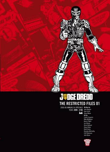 Judge Dredd: v. 1: The Restricted Files (Paperback)