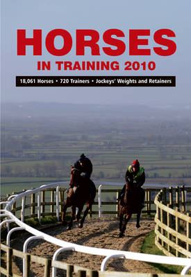Horses in Training 2010 (Paperback)