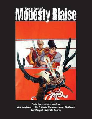 The Art of Modesty Blaise - Illustration Art Gallery Presents (Paperback)