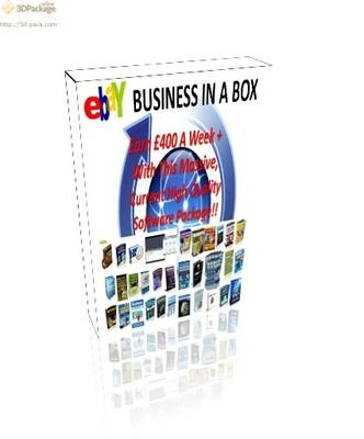 Amazing eBay Business in a Box, Earn GBP400+ a Week 2012: Massive Software Package for Resell (DVD)