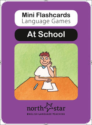 At School: At School - Mini Flashcards Language Games (Cards)