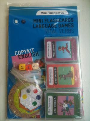 Vital Verbs Kit: Vital Verbs Kit - Mini Flashcards Language Games (Mixed media product)
