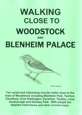 Walking Close to Woodstock and Blenheim Palace (Paperback)