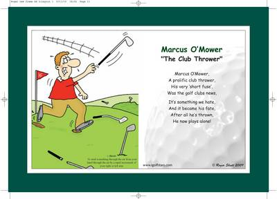 "Marcus O'Mower ""The Club Thrower"" - Front 9 Edition (Poster)"