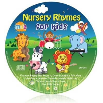 Nursery Rhymes for Kids - Kids Learn Languages (CD-Audio)