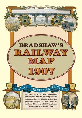 Bradshaw's Railway Folded Map 1907 - Old House (Sheet map)