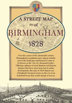 Map of Birmingham, 1828 - Old House (Sheet map)